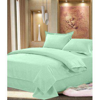 Shiv Kirpa Beautiful Cotton Printed Double Bedsheet With 2 Pillow Covers