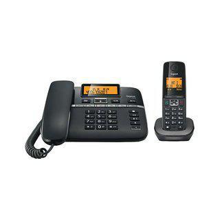 Gigaset C330 Corded Cordless Combo Landline Phone - Black