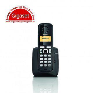 Gigaset A220 Cordless Landline Phone (black)