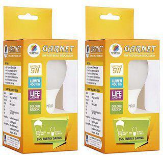 Wipro 5 W Led Garnet Led Bulb