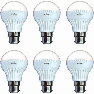 Jailux Led 12 W Economy Bulb B22 Base Pack Of 6 White