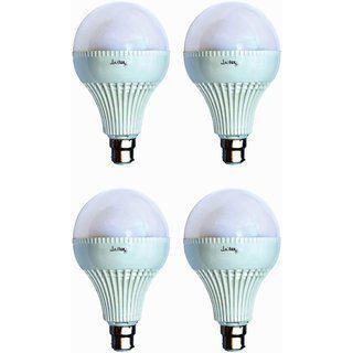 Jailux Led 20w Economy Bulb B22 Base Pack Of 4 White