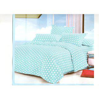 Little Joy Beautiful 3d Polycotton Printed Double Bedsheet With 2 Pillow Cover