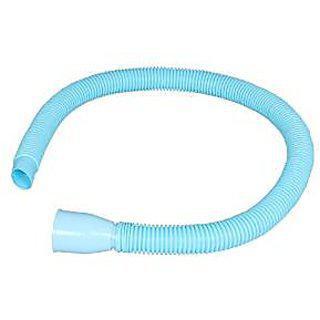 Shruti Pvc Long Socket Waste Pipe For Wash Basin / Kitchen Sink Water Out Let - 1003(blue)
