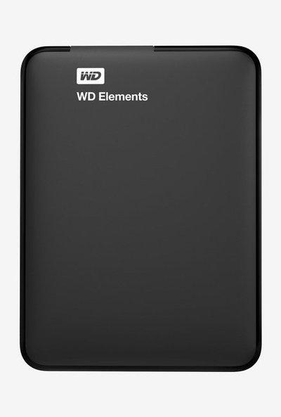 WD Elements WDBPCK0010BBK 1 TB Hard Disk Black