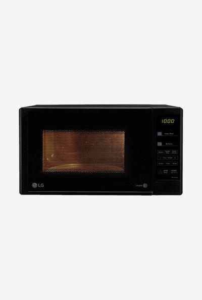 LG MS2043DB Solo Microwave Oven Black