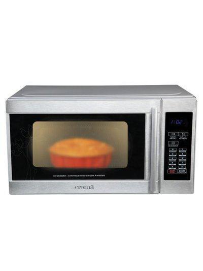 Croma CRM2025 20L Solo Microwave Oven (Silver)