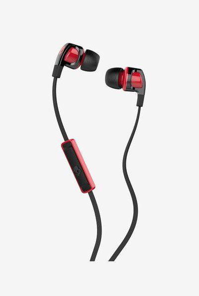 Skullcandy Smokin Buds 2.0 S2PGFY-010 In-Earphone with Mic (Black Red)