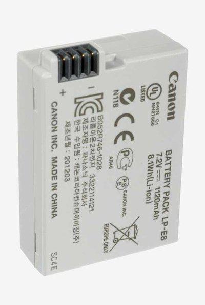 Canon Lithium-Ion LP-E8 Battery White