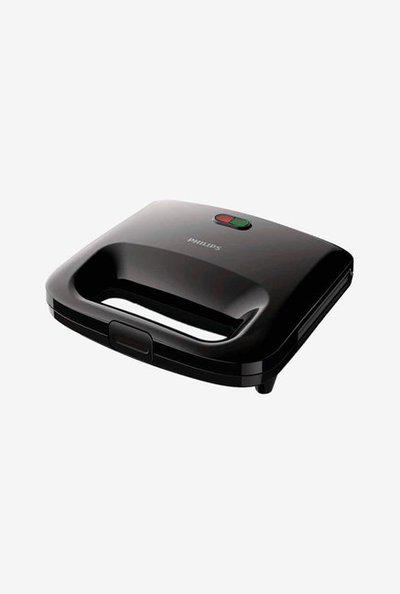 Philips Daily Collection HD2394/99 Sandwich Maker (Black)