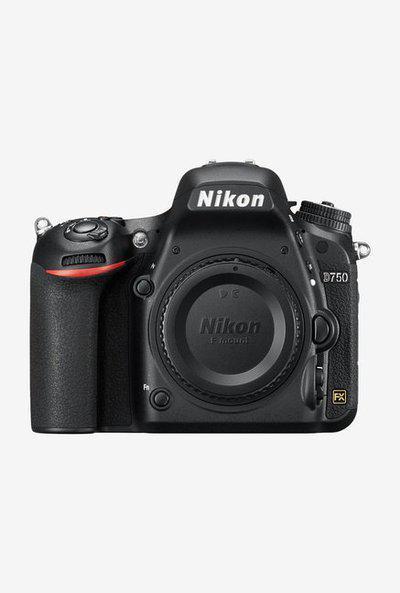 Nikon D750 DSLR Body Only Camera 16GB Card plus Camera Bag (Black)