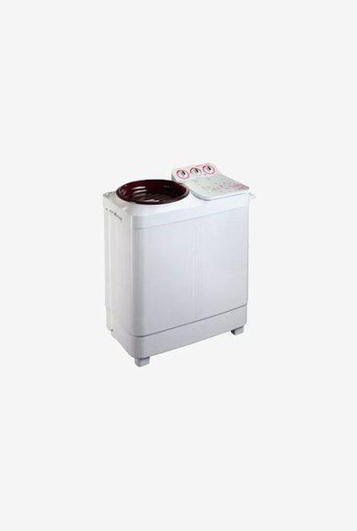 Lloyd LWMS65LT 6.5 kg Semi Automatic Washing Machine (Red)