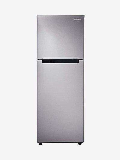 Samsung 251L 2 Star 2019 Frost Free Double Door Refrigerator (Elegant Inox, RT28K3082S8)