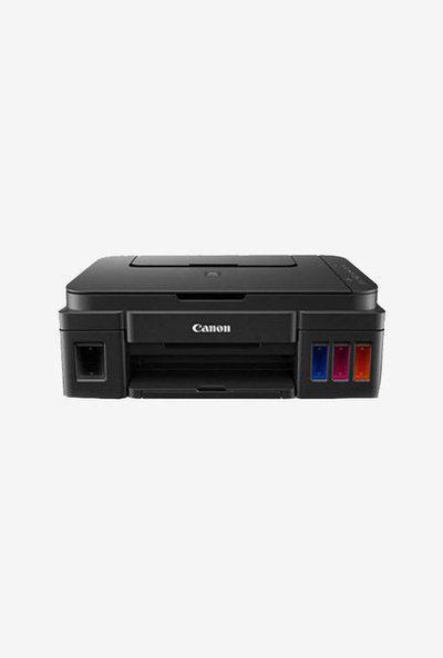 Canon PIXMA G3000 Multifunction Inkjet Printer (Black)