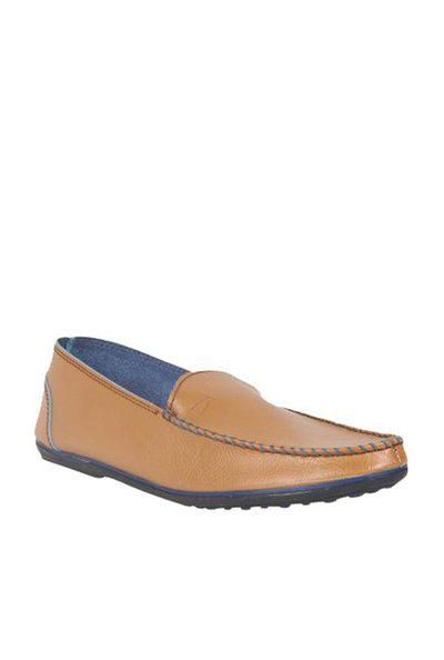 Duke Men's Tan Coloured Synthetic Leather Casual Shoes 7