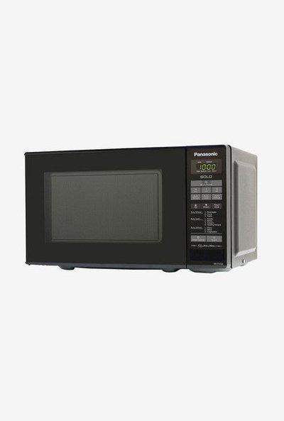 Panasonic NN-ST266BFDG 20L Solo Microwave Oven (Black)