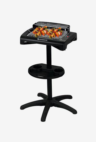 Wonderchef Smoky 1650W Grill Electric Barbeque (Black)