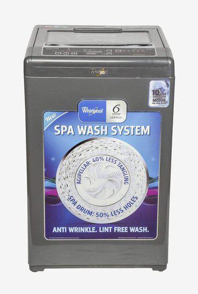 Whirlpool Whitemagic Premier 6.5kg TL Washing Machine (Grey)