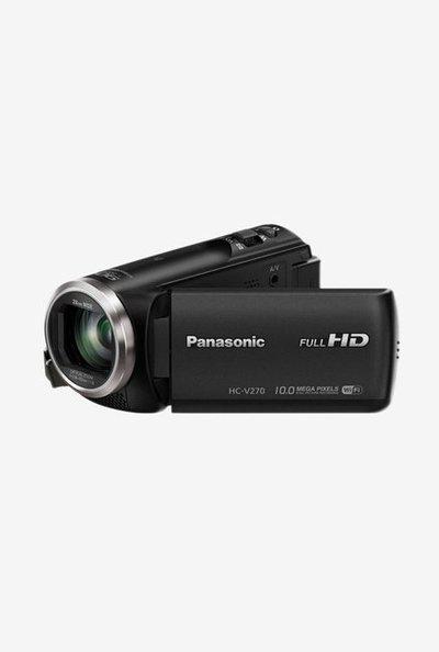 Panasonic HC-V270 10 MP Full HD Camcorder (Black)