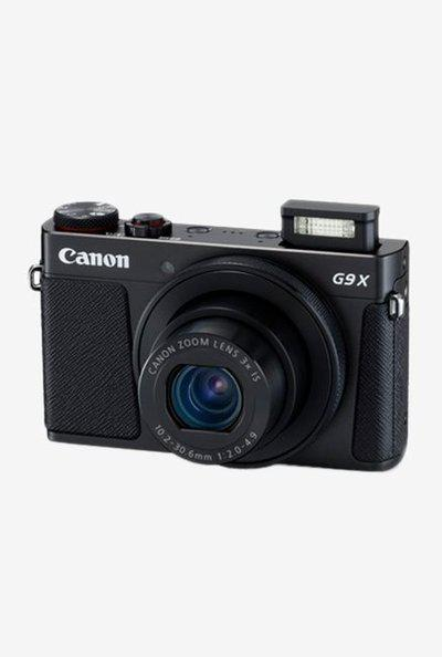 Canon PowerShot G9 X Mark II 20.1 MP Point and Shoot Camera with 16GB SD Card and Carry Case (Black)