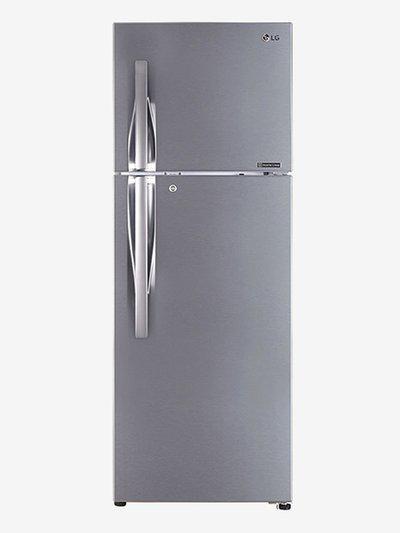 LG GL-R372JPZN 4S 335L Frost Free Refrigerator (Shiny Steel)