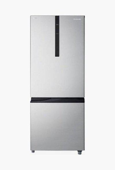 Panasonic 296L 2 Star Frost Free Double Door Refrigerator (Silver, NR-BR307RSX1)