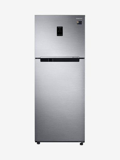 Samsung 394L 3 Star (2019) Frost Free Double Door Refrigerator (Inox, RT39M5538S8TL)