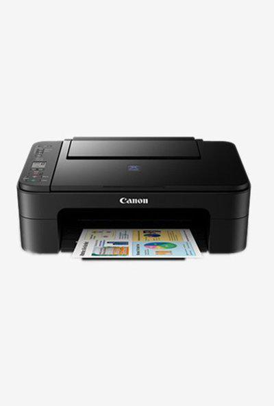 Canon Pixma E3170 Wireless All-in-One Printer (Black)