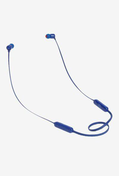 Jbl Tune T110Bt Bluetooth Earphone With Mic (Blue)