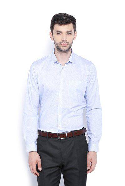 Van Heusen Baby Blue Slim Fit Shirt
