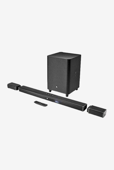 JBL Bar 5.1 Channels 4K Ultra HD Soundbar with True Wireless Surround Speakers (Black)