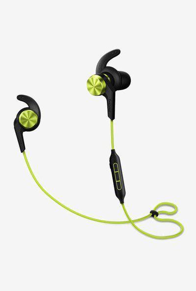 1More iBFree Bluetooth Earphone with Mic (BlackGreen)