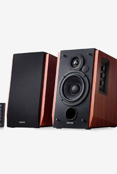 Edifier R1700BT Bluetooth Bookshelf Speakers (Brown)