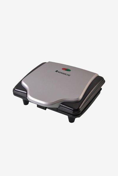 Wonderchef Ultima 640 W Sandwich Maker (Black/Silver)