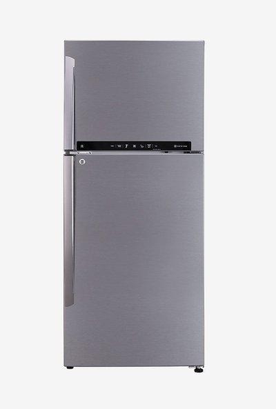 LG 437L Inverter 2 Star 2020 FF Double Door Convertible Refrigerator (Shiny Steel, GL-T432FPZU)