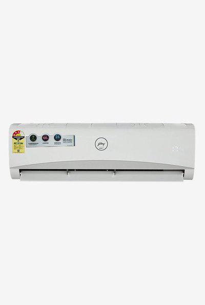 Godrej 1.5 Ton Inverter 3 Star Copper (BEE Rating 2018) GSC 18 AMINV 3 RWQM Split AC (White)