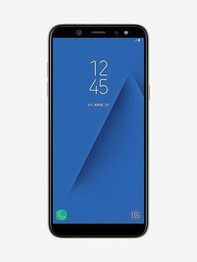 Samsung Galaxy A6 64 GB (Gold) 4 GB RAM, Dual SIM 4G