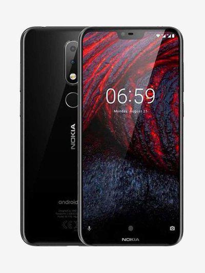 Nokia 6.1 Plus 64 GB (Black) 4 GB RAM, Dual SIM 4G