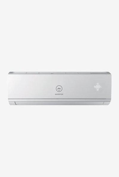 Godrej 1.5 Ton Inverter 3 Star Copper Split AC (White Fascia,GIC 18 DINV 3 RWQH)