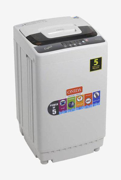 Onida T65CGD 6.5 Kg Fully Automatic Top Loader Washing Machine (Grey)