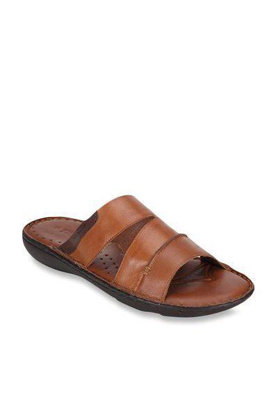 Ruosh Men's Tan Leather Formal Shoes - 9 Uk/india (43 Eu) (1121048070)