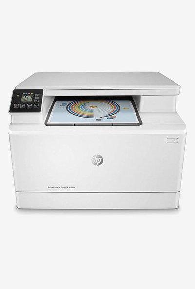 HP M180n Color LaserJet Pro Multi Function Printer (White)