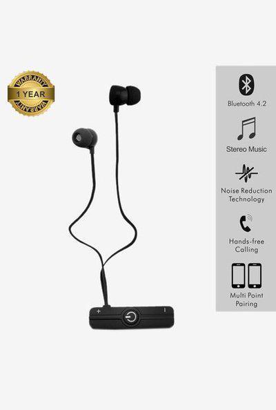 Portronics Harmonics 206 Por 831 Wireless Earphone (Black)