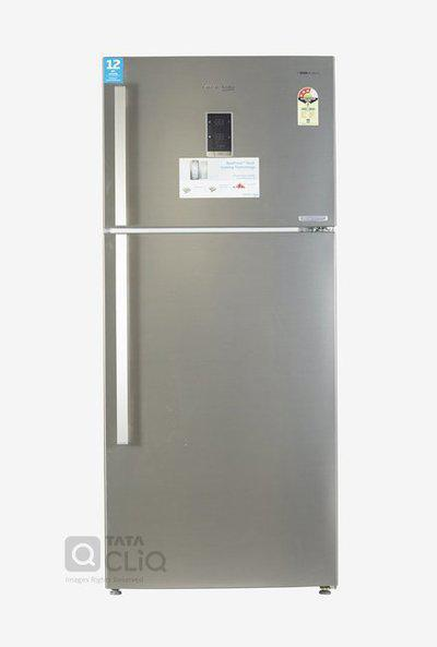 Voltas Beko 610 L Inv 3 Star FF Double Door Refrigerator with Store Fresh plus (Inox Look , RFF633IF)