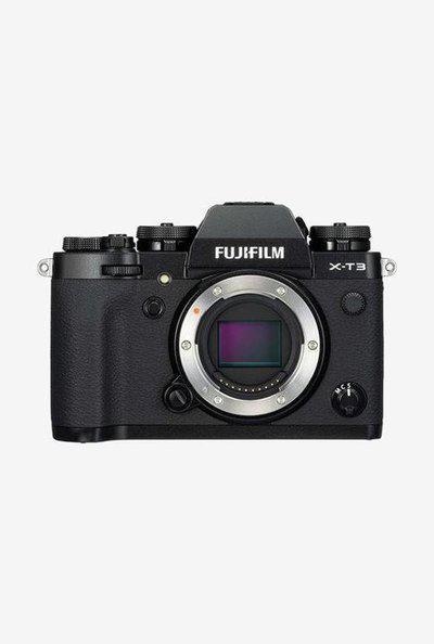 Fujifilm XT3 DSLR Camera Body Only plus Camera Bag (Black)