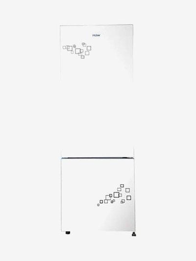 Haier 320 L Frost Free Double Door Bottom Mounted Refrigerator (Mirror Glass, HRB-3404PMG-E)