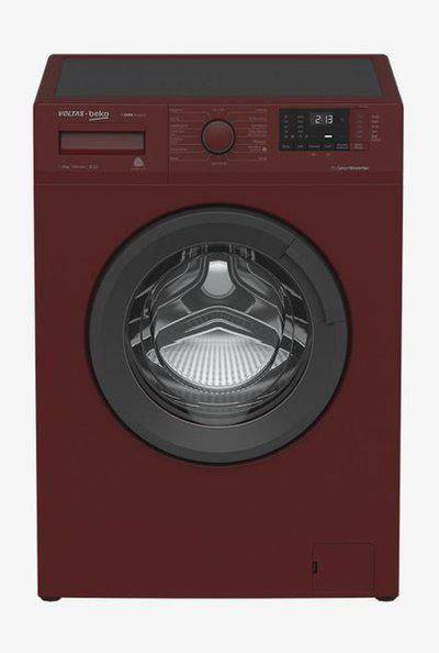 Voltas Beko WFL60RS 6 Kg Fully Automatic Front Loader Washing Machine 26 Stain Expert (Bordeaux)