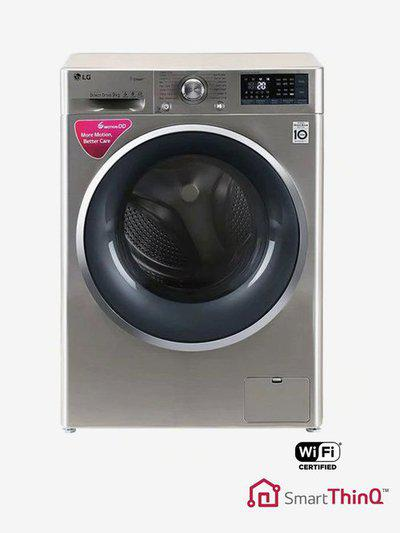 LG FHT1409SWS 9 kg Fully Automatic Front Load Washing Machine (STS-VCM)