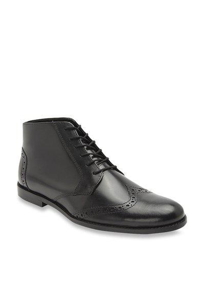 Hats Off Accessories Men Black Formal Shoes