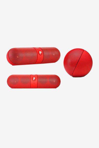 Ptron Streak 3W Bluetooth Speaker (Red)